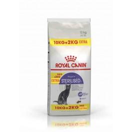 Royal Canin Féline Health Nutrition Sterilised 37 - 10 kg + 2 kg offerts - La Compagnie Des Animaux