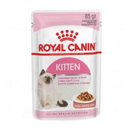 Royal Canin Kitten Instinctive âgé de 4 à 12 mois Sachet 12 x 85 grs - La Compagnie Des Animaux