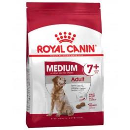 Royal Canin Medium Adult + de 7 ans 15 kg - La Compagnie Des Animaux