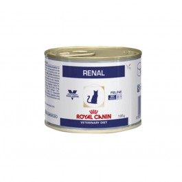 Royal Canin Veterinary Diet Cat Renal Poulet BOITES 12x195 grs - La Compagnie Des Animaux