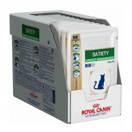 Royal Canin Veterinary Diet Cat Satiety Support 12 x 85 g - La Compagnie Des Animaux