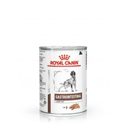Royal Canin Veterinary Diet Dog Gastro Intestinal Low Fat 12 x 410 grs - La Compagnie Des Animaux