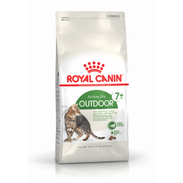 Royal Canin Féline Health Nutrition Outdoor + de 7 ans 10 kg - La Compagnie Des Animaux