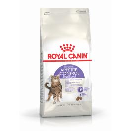 Royal Canin Féline Health Nutrition Sterilised Appetite Control 4 kg - La Compagnie Des Animaux