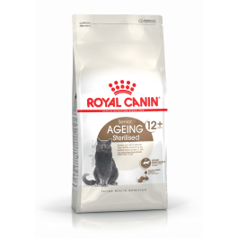 Royal Canin Féline Health Nutrition Sterilised + de 12 ans 4 kg - La Compagnie Des Animaux