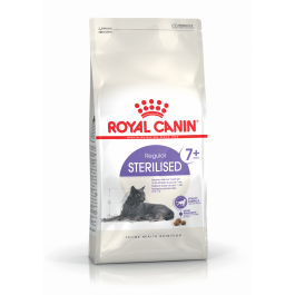 Royal Canin Féline Health Nutrition Sterilised + de 7 ans - 10 kg - La Compagnie Des Animaux