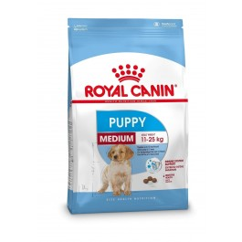 Royal Canin Puppy Medium 15 kg - La Compagnie Des Animaux