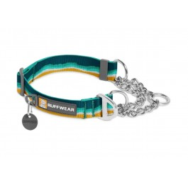 Ruffwear Collier Chain Reaction Vert M - La Compagnie Des Animaux