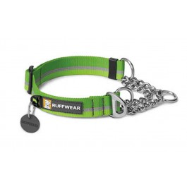 Ruffwear Collier Chain Reaction Vert L - La Compagnie Des Animaux