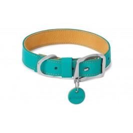 Ruffwear Collier Frisco turquoise 36-43cm - La Compagnie Des Animaux