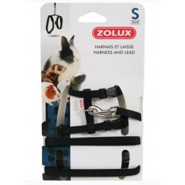 Zolux Kit Harnais petit mammifère casual noir S - La Compagnie Des Animaux