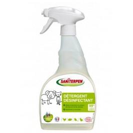 Saniterpen Détergent Désinfectant Ecologique 750 ml - La Compagnie Des Animaux