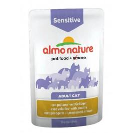 Almo Nature Chat Sensitive Volailles 30 x 70 grs - La Compagnie Des Animaux