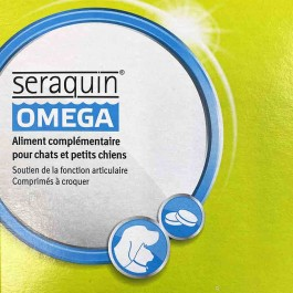 Seraquin Omega Chat 20 cps - La Compagnie Des Animaux
