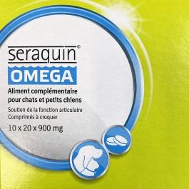 Seraquin Omega Chat 200 cps - La Compagnie Des Animaux