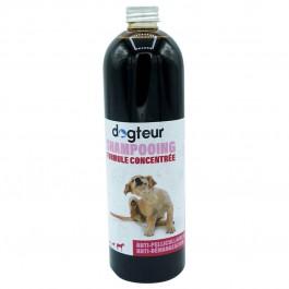 Offre Dogteur: 1 Shampooing PRO Dogteur Cade 500 ml acheté = 1 gant de toilettage offert - La Compagnie Des Animaux