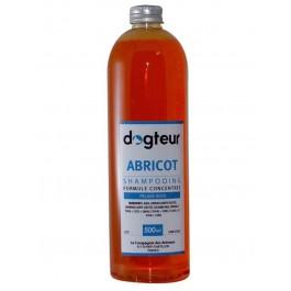 Offre Dogteur: 1 Shampooing PRO Dogteur Abricot 500 ml acheté = 1 gant de toilettage offert - La Compagnie Des Animaux