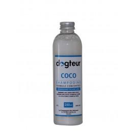 Offre Dogteur: 1 Shampooing PRO Dogteur Huile de Coco 250 ml acheté = 1 gant de toilettage offert - La Compagnie Des Animaux