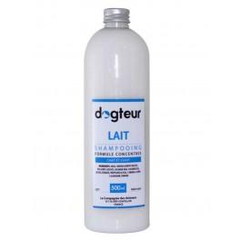 Offre Dogteur: 1 Shampooing PRO Dogteur Lait 500 ml = 1 gant de toilettage offert - La Compagnie Des Animaux