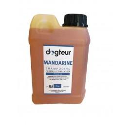 Offre Dogteur: 1 Shampooing PRO Dogteur Mandarine 1 L acheté = 1 gant de toilettage offert - La Compagnie Des Animaux