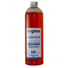 Offre Dogteur: 1 Shampooing PRO Dogteur Mandarine 500 ml acheté = 1 gant de toilettage offert - La Compagnie Des Animaux