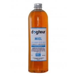 Offre Dogteur: 1 Shampooing PRO Dogteur Miel 500 ml acheté = 1 gant de toilettage offert - La Compagnie Des Animaux