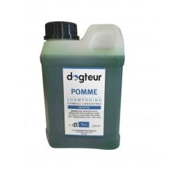 Offre Dogteur: 1 Shampooing PRO Dogteur Pomme 1 L acheté = 1 gant de toilettage offert - La Compagnie Des Animaux