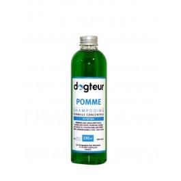 Offre Dogteur: 1 Shampooing PRO Dogteur Pomme 250 ml acheté = 1 gant de toilettage offert - La Compagnie Des Animaux