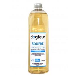 Offre Dogteur: 1 Shampooing PRO Dogteur Soufre 500 ml acheté = 1 gant de toilettage offert - La Compagnie Des Animaux