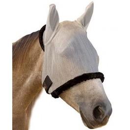 Farnam SUPERMASK avec oreille Silver / Black HORSE - La Compagnie Des Animaux