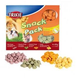 Trixie Snack Pack friandises pour petits animaux 4 × 35 g - La Compagnie Des Animaux