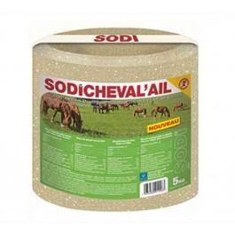 Sodicheval'ail Bloc de sel 5 kg - La Compagnie Des Animaux