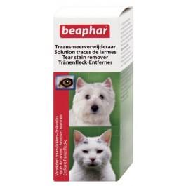Beaphar Solution contre les Traces de Larmes pour Chien et Chat 50 ml - La Compagnie Des Animaux
