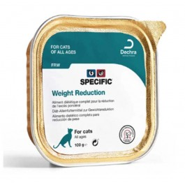 Specific Chat FRW Weight Reduction 7 x 100 grs - La Compagnie Des Animaux