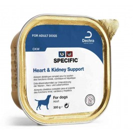 Specific Chien CKW Heart & Kidney 6 x 300 grs - La Compagnie Des Animaux