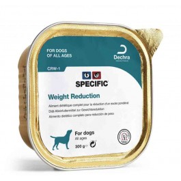 Specific Chien CRW-1 Weight Reduction 6 x 300 grs - La Compagnie Des Animaux