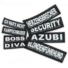 2 Stickers Velcro Julius K9 taille S GANGSTER - La Compagnie Des Animaux