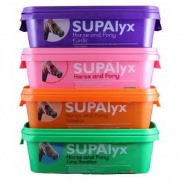SUPAlyx Bloc à lécher Respiration cheval 3 kg - La Compagnie Des Animaux