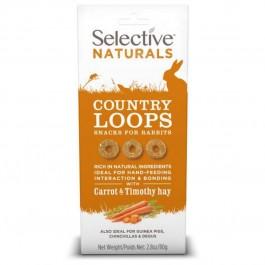 Supreme Selective Naturals Country Loops pour Lapin 80 g - La Compagnie des Animaux