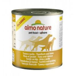 Almo Nature Chien Classic Thon et poulet 12 x 280 grs - La Compagnie Des Animaux