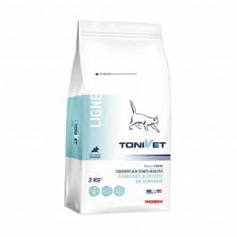 Tonivet Ligne pour chat 2 kg - La Compagnie Des Animaux