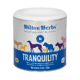 Hilton Herbs Tranquility Chiens Anxieux 125 g - La Compagnie Des Animaux