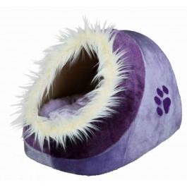 Trixie Abri pour chat Minou mauve/violet 35 x 26 x 41 - La Compagnie Des Animaux