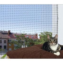 Trixie Filet de protection noir fenêtre pour chat 3 x 2 m - La Compagnie Des Animaux