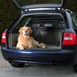 Trixie grille de protection noire pour voiture - La Compagnie Des Animaux