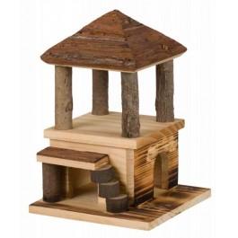 Trixie Natural Living Maison Sten en bois flammé Souris et Hamsters - La Compagnie Des Animaux