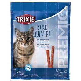 Trixie Premio Anti-Hairball avec Saumon et Truite en Stick pour Chat 20 grs - La Compagnie Des Animaux