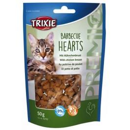 Trixie PREMIO Barbecue Hearts pour chat 50 g - La Compagnie Des Animaux