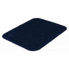 Trixie Tapis PVC bleu foncé pour bac à litière 37 x 45 cm - La Compagnie Des Animaux