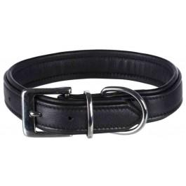 Trixie Active Comfort Collier Noir L 47 à 54 cm - La Compagnie Des Animaux